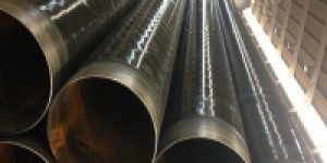 Coated piping